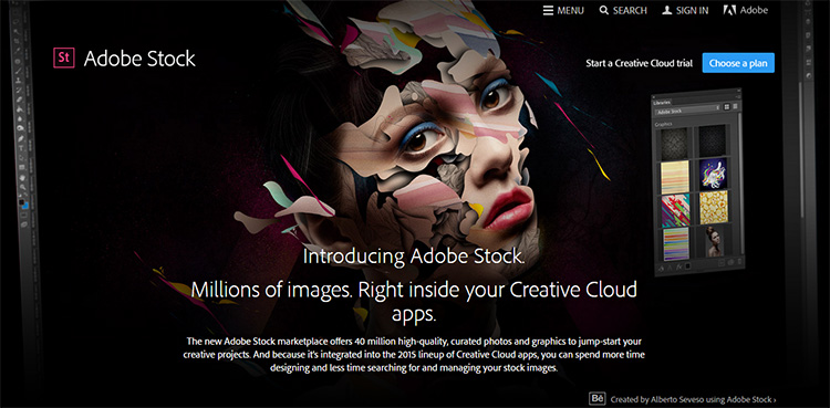 welcome to adobe stock
